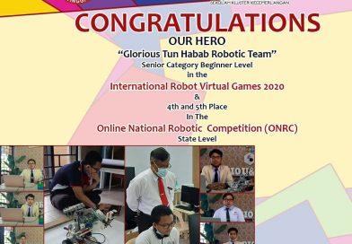 Tahniah Pasukan Robotik
